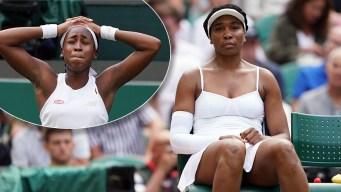 Joven promesa derrota a Venus Williams y estalla en llanto