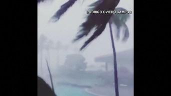 Narda golpea las costas de México