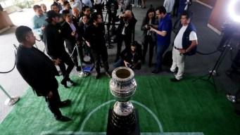 El trofeo de la Copa América está de gira