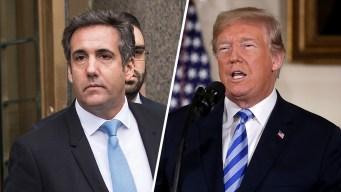 Cohen presenta demanda contra la Organización Trump