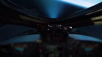 Increíble: vuelo comercial llega al borde del espacio