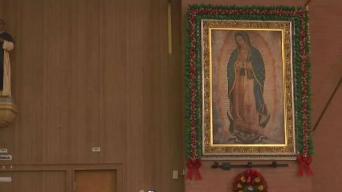 Celebrando a la Virgen de Guadalupe