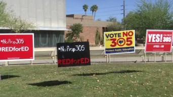 En la boleta electoral, la expansión de vales escolares