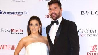 Eva Longoria revela su gran secreto que Ricky Martin guardó