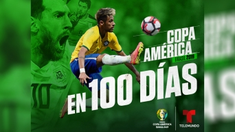 Copa América: faltan 100 días para que ruede la pelota