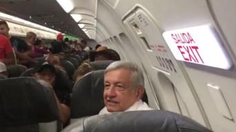 """AMLO tras quedarse varado: """"no usaré avión presidencial"""""""