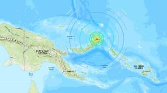 Fuerte terremoto en Oceanía: no hay heridos; evalúan daños