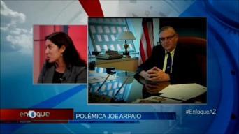 Polémica con el Comisario Joe Arpaio