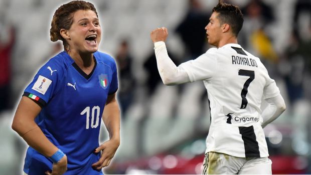 [WWC 2019] ¡Inesperado! Estrella italiana sienta a CR7 en la Juventus