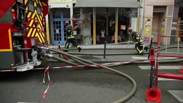 [TLMD - LV] Hallan cadáver de mujer tras explosión en París
