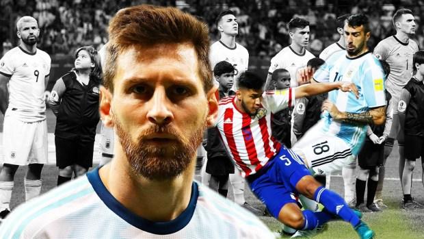 [Copa America - PUBLICADO] ¡En horas bajas! El duelo de necesitados entre Argentina y Paraguay