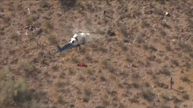 [TLMD - NATL] Rescate accidentado de helicóptero en Arizona