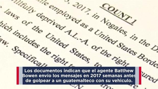 [TLMD - AZ] Agente acusado de llamar salvajes a migrantes