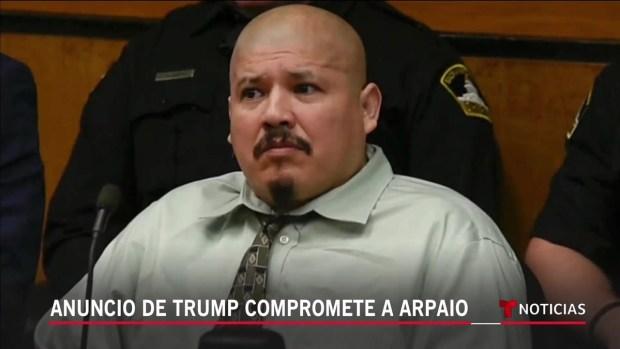 [TLMD - LV] Anuncio de Trump compromete a Arpaio