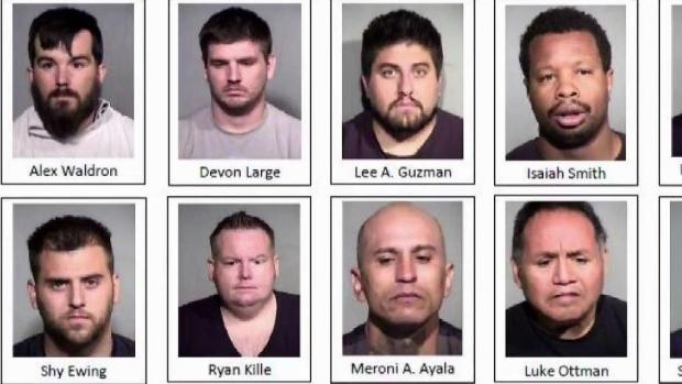[TLMD - AZ] Arrestan a 25 presuntos agresores sexuales