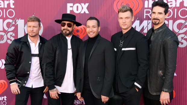 Museo de los Grammy abre muestra de los Backstreet Boys