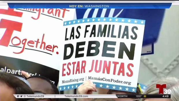 Buscarán solución en el Senado a separación de familias