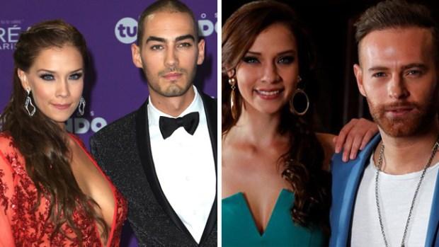 """Carolina Miranda en un """"triángulo baboso"""" entre Michel Duval y Luis Ernesto Franco"""