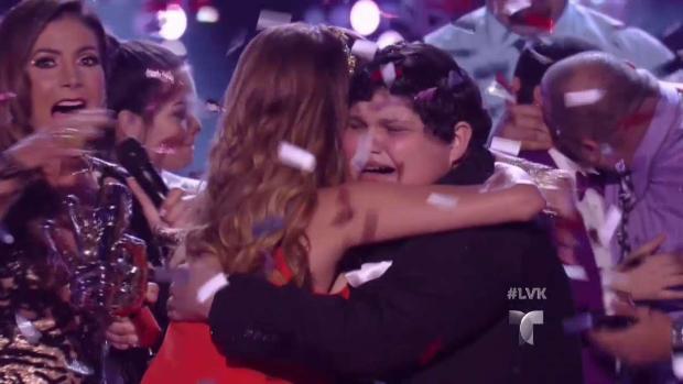 "Christopher Rivera gana ""La Voz Kids"""