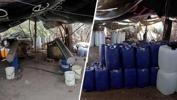 [TLMD - NATL] Hallan el narcolaboratorio más grande de Sinaloa