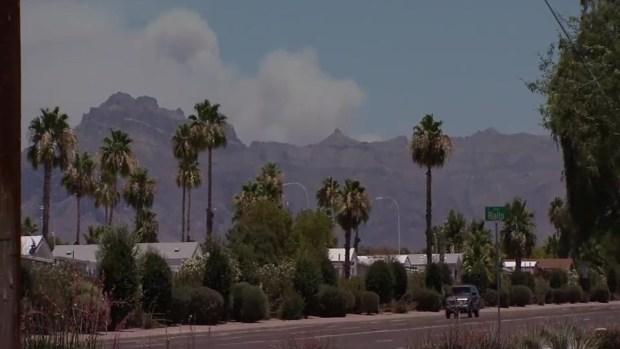 [TLMD - AZ] Comienza evacuación por incendio Woodbury