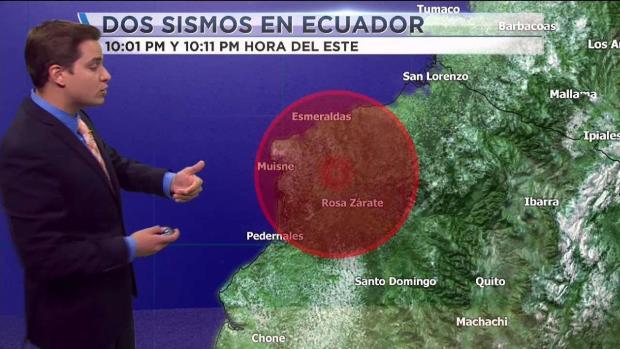 [TLMD - MIA] Dos sismos sacuden a Ecuador