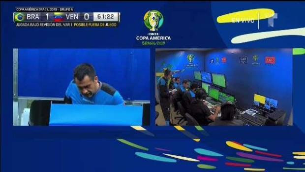 [TLMD -National- LV] El VAR salva a Venezuela de gol de Brasil