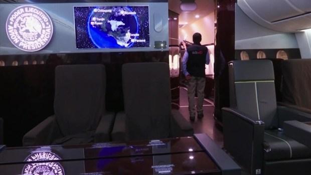 [TLMD - NATL] El avión presidencial que puso a la venta López Obrador