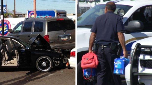 Fotos: Persecución en Phoenix termina con dramática escena