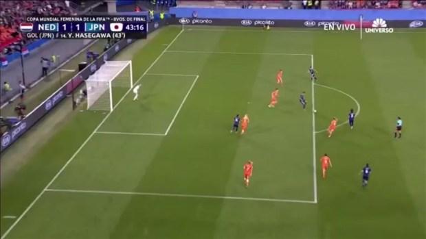 [TLMD - NATL] Gol de Japón que empata ante Holanda