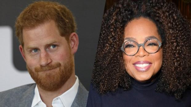 Príncipe Harry y Oprah harán serie sobre salud mental