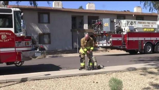 [TLMD - AZ] Incendio en complejo de departamentos