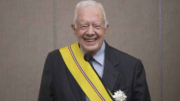 Carter se convierte en el expresidente más longevo de EEUU