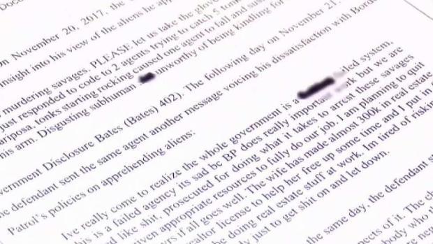 """[TLMD - AZ] Documentos: agente fronterizo llama a migrantes """"salvajes"""" e """"infrahumanos"""""""
