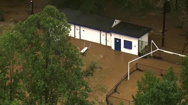 [TLMD - MIA] Inundaciones en parque de juegos, Carolina del Norte