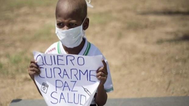 Muere Oliver Sánchez, el niño con cáncer en Venezuela