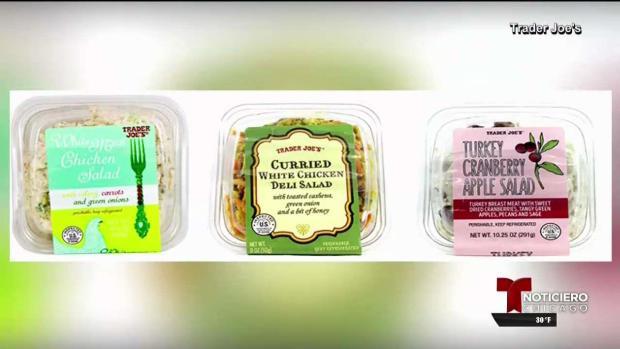 Retiran del mercado ensaladas de Trader Joe's