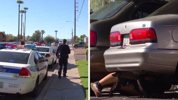 Fotos: Lluvia de balas contra oficial, detienen a sospechosos