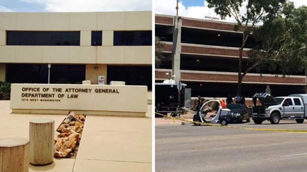 Fotos: Caos tras amenaza de bomba en Phoenix y Tucson