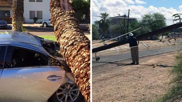 Fotos: Los estragos del monzón 2015 en Arizona
