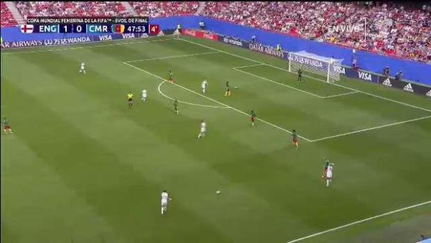 Polémico: el segundo gol de Inglaterra