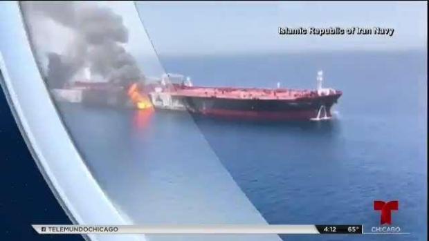 Pompeo atribuye a Irán ataque a tanqueros
