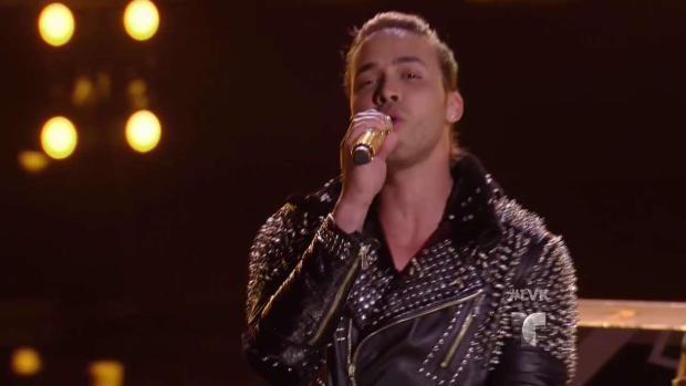 """Prince Royce canta """"Culpa al corazon"""""""