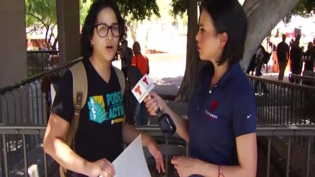 [TLMD - AZ] Protestan para exigir mejoras en policía de Phoenix