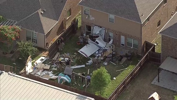 Investigan accidente de avioneta en McKinney