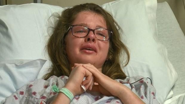 """""""Pensé que me estaba muriendo"""": víctima de """"bomba de lava"""" rompe su silencio"""