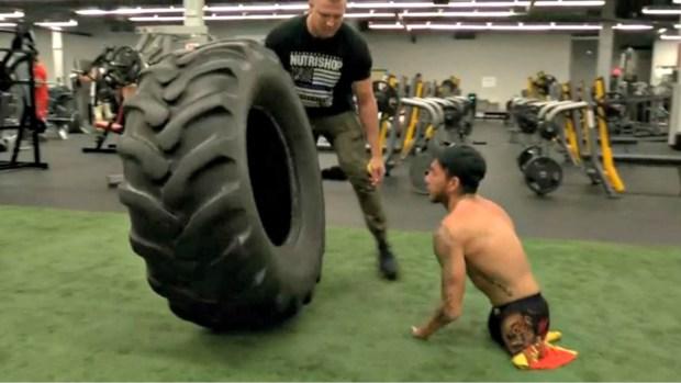 [TLMD - NATL] Nick 'Santo': el atleta sin piernas y un brazo que desafió al destino