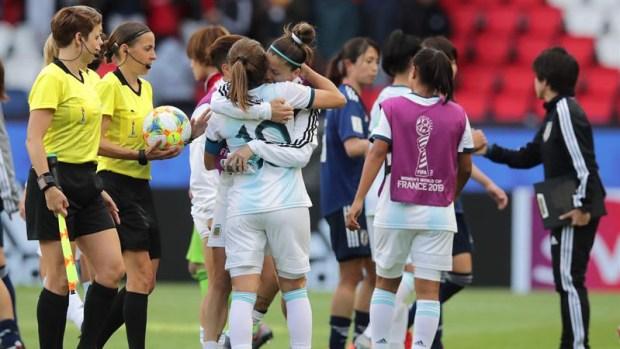 [WWC 2019 - PUBLICADO] Así se vivió el partido entre Argentina y Japón en el Mundial Femenino