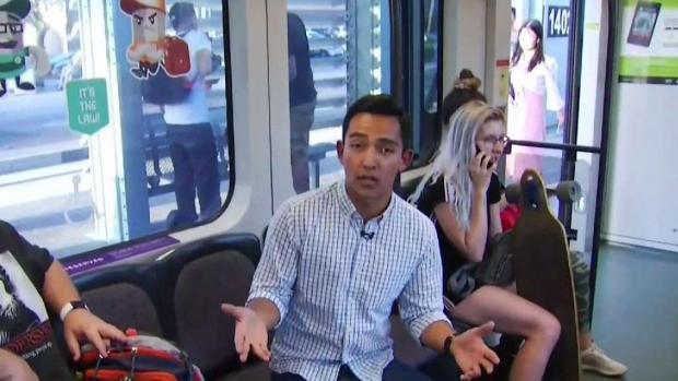 Estudiantes se sienten inseguros en tren ligero donde mujer fue tocada