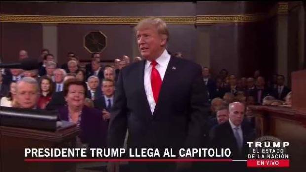 [TLMD - MIA] Presidente Trump llega al capitolio